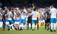 Peñalba se va expulsado por falta sobre Rabello