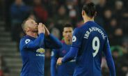 Wayne Rooney celebra gol contra el Stoke City