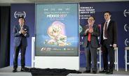 Presentación del cartel del Gran Premio de México 2017