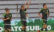 Ronaldo festeja el gol de la victoria contra Honduras