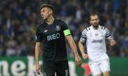Héctor Herrera, durante el juego entre Porto y Juventus