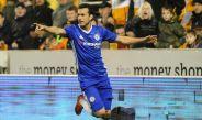 Pedro celebra un gol con la camiseta del Chelsea