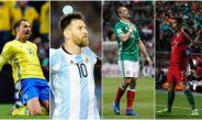 Zlatan, Messi, CH7 y CR7, goledores de sus respectivas selecciones