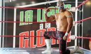 Lirio de Plata posa en el ring de La Llave a la Gloria