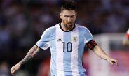 Lionel Messi durante el partido contra Chile