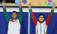 Pacheco y Ocampo celebran el triunfo en un torneo de clavados