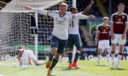 Rooney celebra su anotación contra el Burnley