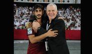 Javier Aguirre después de ganar la Copa de los Emiratos Árabes Unidos