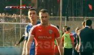 Jugador del Skenderbeu que rompió la tarjeta roja del árbitro