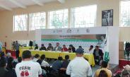 Conferencia en la inauguración del Gimnasio Coyoacán