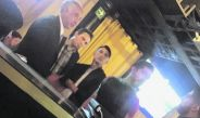 Alan Pulido, Rodolfo Pizarro y Jair Pereira captados en un bar de Polanco