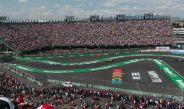 Gradas del Autódromo Hermanos Rodríguez llenas en el GP de México 2016