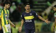 Jonathan Silva celebra su gol