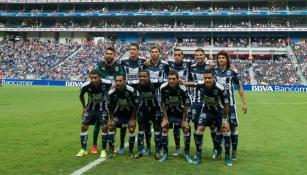 Cuadro titular de Monterrey en la Liga MX