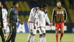Jugadores mexicanos lamentan la derrota
