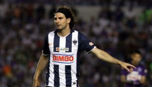Duilio Davino, en un juego de Monterrey