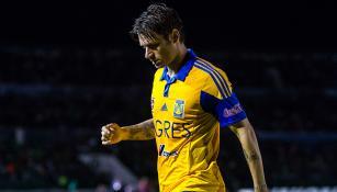 Rafael Sobis después del partido contra Toluca