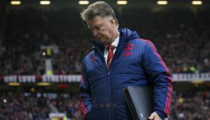 Van Gaal en partido con el Manchester United