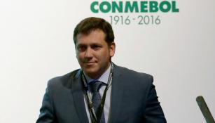 Domínguez, tras ser electo en el Congreso