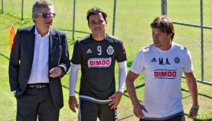 Vergara, Bravo y Almeyda, en Verde Valle