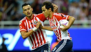 Omar Bravo, tras marcar gol con Chivas