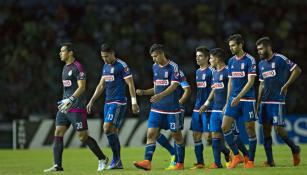 Jugadores de Chivas, tras juego contra Chiapas