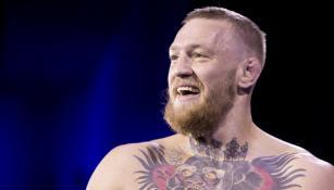 Conor McGregor después de una pelea