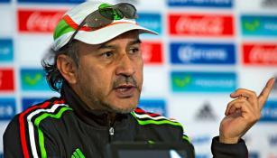 Potro Gutiérrez habla en conferencia de prensa