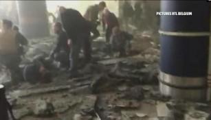 Explosiones en Bruselas dejan varios heridos