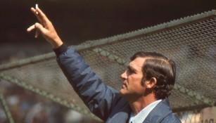 Raúl Cárdenas cuando dirigía a la Selección Mexicana