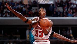 Scottie Pippen en su época como jugador de los Chicago Bulls