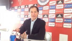 Jaime Ordiales, en conferencia de prensa