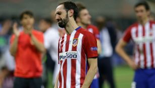 Juanfran llora tras perder la Final de Champions