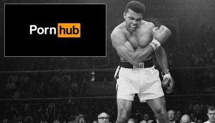 Muhammad Ali en uno de sus históricos combates