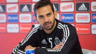 Raúl López en conferencia de prensa