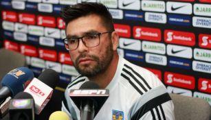 José 'La Palmera' Rivas brinda declaraciones en conferencia de prensa