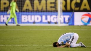 Messi se lamenta tras perder la Final de la Copa América