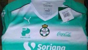 Así luce el jersey de Santos 22a2c14c3979f