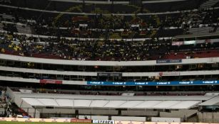 Panorámica del Azteca en el juego contra Chiapas