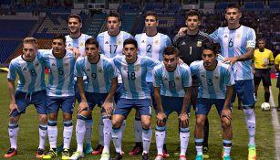 El 11 titular de Argentina para enfrentar al Tri Olímpico
