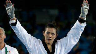 María Espinoza aseguró una medalla más para México en taekwondo