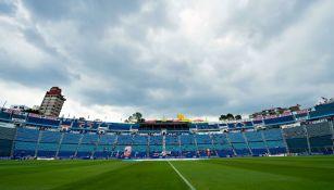Postal del Estadio Azul previo al último duelo entre La Máquina y Xolos