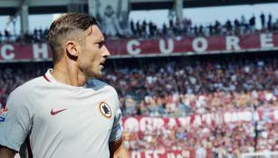 Francesco Totti, durante el partido frente al Torino