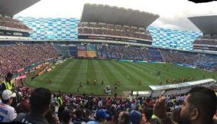 Así luce el estadio Cuauhtémoc lleno de aficionados de Chivas
