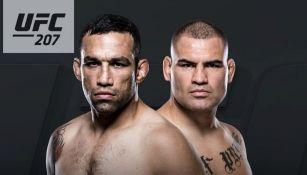 Caín y Velázquez en el póster del UFC 207
