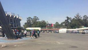 El Estadio Azteca luce con poca actividad de cara al Clásico Nacional