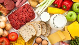 Alimentos básicos de la dieta diaria