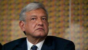 Andrés Manuel López Obrador, presidente del partido Morena
