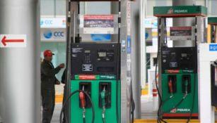 Gasolinería que carece de combustible Premium