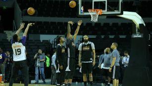 Suns de Phoenix, durante un entrenamiento